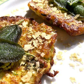 Wegańskie placuszki  z cukinii Pana Vegetina