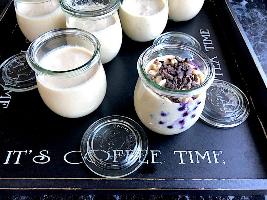Dlaczego warto robićroślinny jogurt na mleku sojowym?